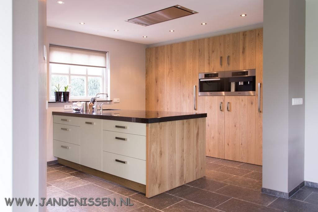 Eiken Houten Keukendeurtjes.Eikenhout Keuken En Interieurs Op Maakt Gemaakt Jan Denissen