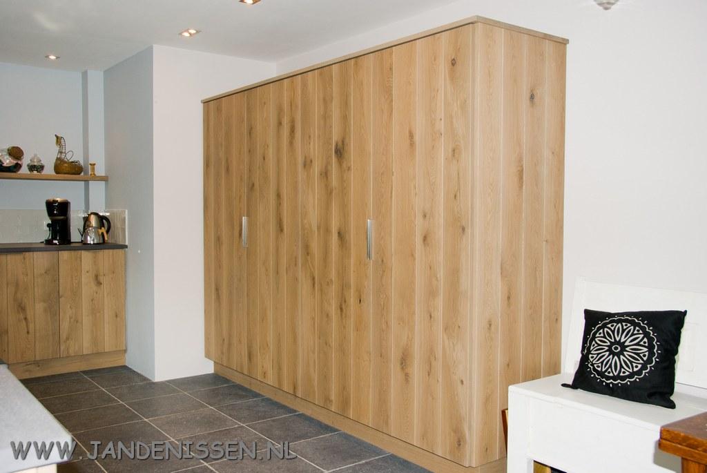 Planken in de keuken plank zelf bouwen muur planken keuken open