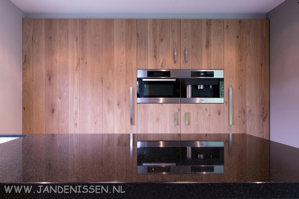 Houten plank keuken ruw eiken keuken maatwerk jp walker